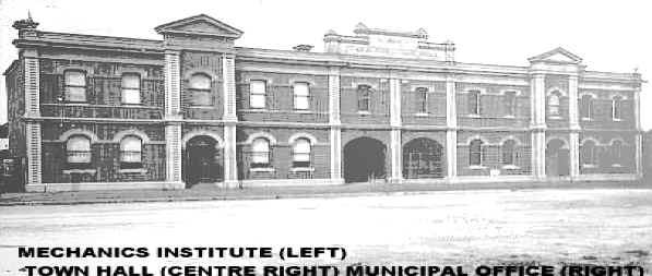 Traralgon Town Hall & Mechanics Institute